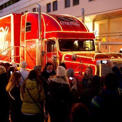 Weihnachtstruck-Termine und Städte in Deutschland (Foto)