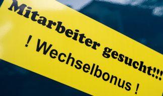 Über eine Million offene Stellen sind derzeit auf dem deutschen Arbeitsmarkt unbesetzt. (Foto)