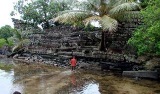 Die Ruinenstadt Nan Madol liegt im Bundesstaat Pohnpei im Osten von Mikronesien. (Foto)