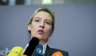 Alice Weidel (AfD) kann ein Scheitern der Sondierungsgespräche gar nicht abwarten. (Foto)