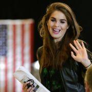 So machte Hope Hicks den US-Präsidenten schwach (Foto)