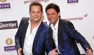 """Martin Marcell Hein (links) und Fredi Malinowski alias Freddy März bilden das Duo """"Fantasy"""". (Foto)"""