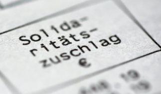 Geht es nach der FDP, muss der Solidaritätszuschlag endlich weg. (Foto)