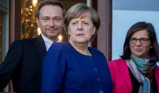 Aktuelle Umfragen sprechen eine deutliche Sprache, welcher deutsche Politiker auf die Wähler am sympathischsten wirkt. (Foto)