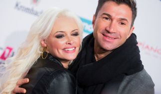 Daniela Katzenberger und Ehemann Lucas Cordalis. (Foto)
