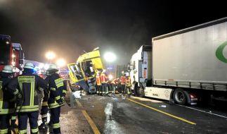 Auf der A3 bei Aschaffenburg starben drei Menschen bei einem Horror-Crash. (Foto)