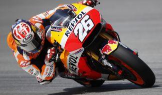 MotoGP wird am Wochenende bei Eurosport übertragen. (Foto)