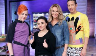 Meta Hiltebrand, Susi Kentikian, Caroline Beil und Jorge Gonzales. (Foto)