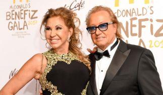 Robert und Carmen Geiss bei der Benefizgala zugunsten der McDonald's Kinderhilfe. (Foto)