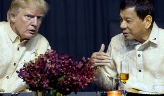 Donald Trump und Rodrigo Duterte. (Foto)