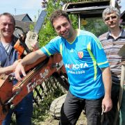 Wer bringt Claus, Ralf und Baggerkönig Henrik privat auf Trab? (Foto)