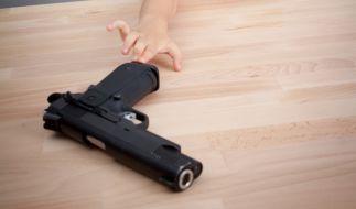 Die Waffe lag achtlos herum. (Foto)