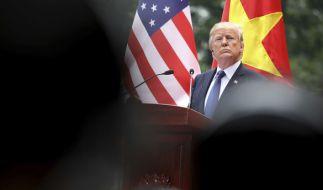 Trump findet, dass seine Asienreise ein voller Erfolg war. (Foto)