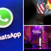 WhatsApp-Abzocke // Todesstrafe für Trump // Helene Fischer Show: Stars enthüllt (Foto)