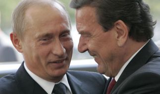 Gerhard Schröder hat die westlichen Sanktionen gegen Russland kritisiert. (Foto)