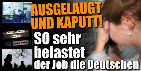 Umfrage vom Deutschen Gewerkschaftsbund