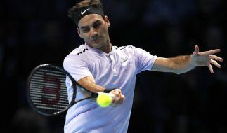 Roger Federer will heute in London wieder angreifen. (Foto)