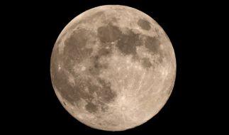 2018 strahlen gleich zwei blaue Monde am Nachthimmel. (Foto)
