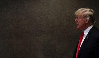 Das Pentagon twitterte eine Rücktrittsforderung an Donald Trump. (Foto)