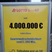 Die Lotto am Samstag-Gewinnzahlen und aktuellen Quoten (Foto)