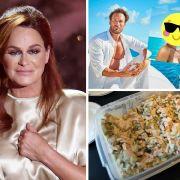 Salat-Rückruf bei Rewe und Edeka // Andrea Berg - Schicksalsschlag // Promi-Nacktpaar noch zusammen (Foto)