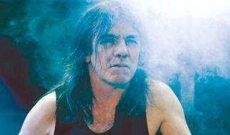 Malcolm Young, Gitarrist der australischen Hard-Rock-Band AC/DC im Jahr 2010. (Foto)