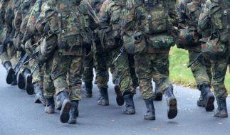 Es wurden deutlich mehr sexuelle Übergriffe in der Bundeswehr gemeldet als im vergangenen Jahr. (Foto)