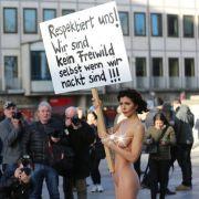 Ganz schön dreist! Kopiert ARD HIER Nacktkünstlerin Milo Moiré? (Foto)