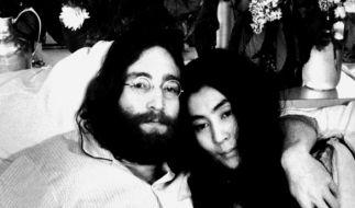 John Lennon und Yoko Ono waren von 1969 bis 1980 verheiratet. (Foto)