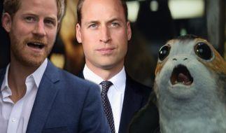 """Angeblich haben Prinz Harry und Prinz William einen Cameo-Auftritt im neuen """"Star Wars""""-Film. (Foto)"""