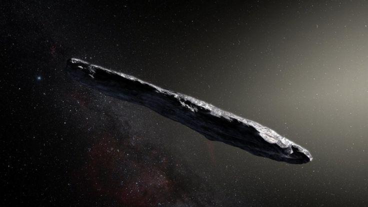 Worum handelt es sich bei diesem interstellaren Objekt?