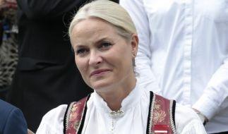 Die norwegische Kronprinzessin Mette-Marit leidet an einer heimtückischen Erkrankung. (Foto)