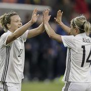 Deutsche DFB-Frauen triumphieren beim Länderspiel (Foto)