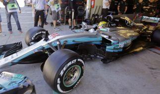 Für Weltmeister Lewis Hamilton ist das letzte Rennen der Saison reine Formsache. (Foto)