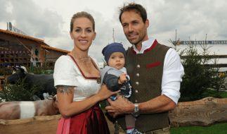 Mit der Fußballerin Melissa Thiem hat Hannawald bereits einen gemeinsamen Sohn. (Foto)