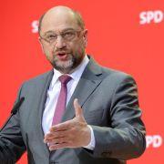 Steht Parteichef Martin Schulz vor dem Rücktritt? (Foto)