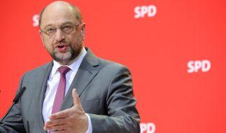 Die SPD unter Parteichef Martin Schulz hat Gesprächsbereitschaft zur Lösung der Regierungskrise signalisiert. (Foto)