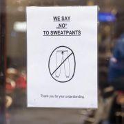 In DIESEM Café sind Jogginghosen verboten (Foto)