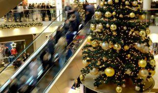 Noch auf der Suche nach Weihnachtsgeschenken? In einigen Städten können Sie auch am Sonntag shoppen. (Foto)