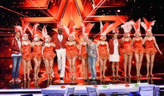 """Die Berliner """"Golden Girls"""" bringen zusammen 763 Jahre Lebenserfahrung auf die Bühne. (Foto)"""