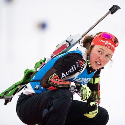 Deutsche Biathleten starten mit gleich 2 Podestplätzen in die Wintersport-Woche (Foto)