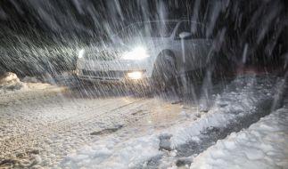 Das Auto sollte man bei diesem Wetter lieber nicht benutzen. (Foto)