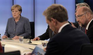 Schmiedet Angela Merkel doch noch eine neue GroKo? (Foto)