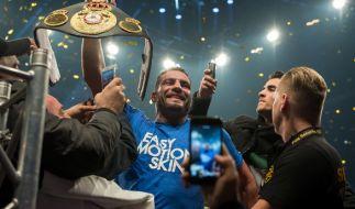Manuel Charr ist Boxweltmeister im Schwergewicht. (Foto)