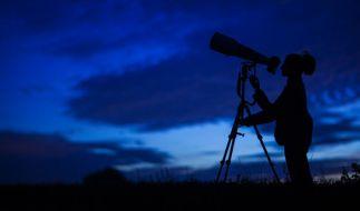 Im Dezember verzaubern die Geminiden den Himmel. (Foto)