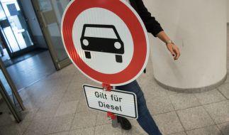 Zahlreichen deutschen Städten drohen Diesel-Fahrverbote. (Foto)