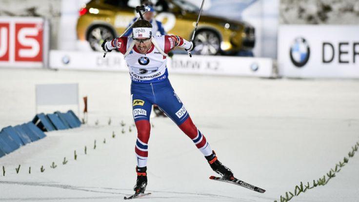 Beim Biathlon-Weltcup im schwedischen Östersund stehen die Einzelrennen der Damen und Herren an. (Foto)