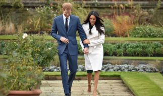 Prinz Harry und Meghan Markle wollen im Mai 2018 heiraten. (Foto)