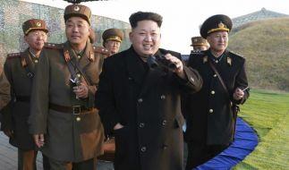 Nordkorea soll erneut eine ballistische Rakete getestet haben (Archivbild). (Foto)