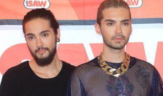 """Tom Kaulitz (links) und sein Zwillingsbruder Bill Kaulitz sind die Gründungsmitglieder von """"Tokio Hotel"""". (Foto)"""